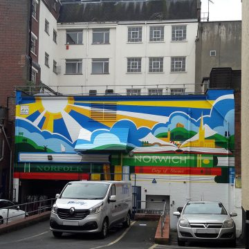 Mural – City of Stories