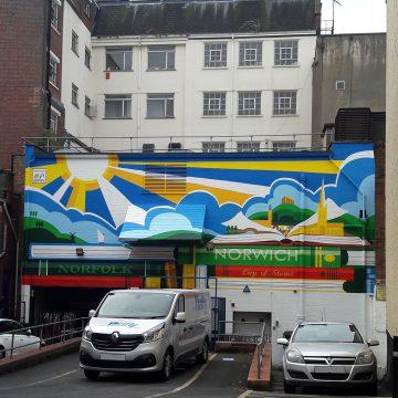 Mural – City of Stories