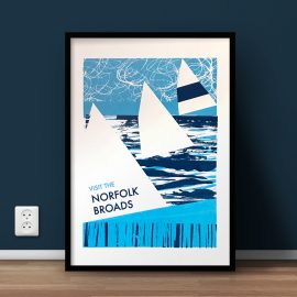 Norfolk Screenprint