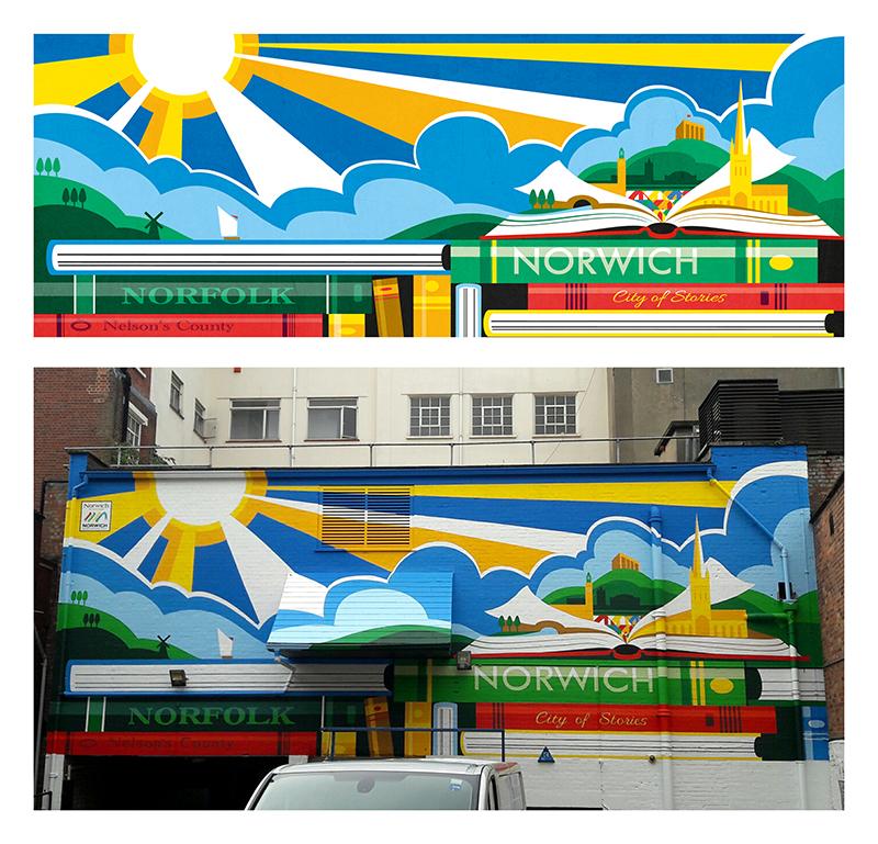 Norwich Mural